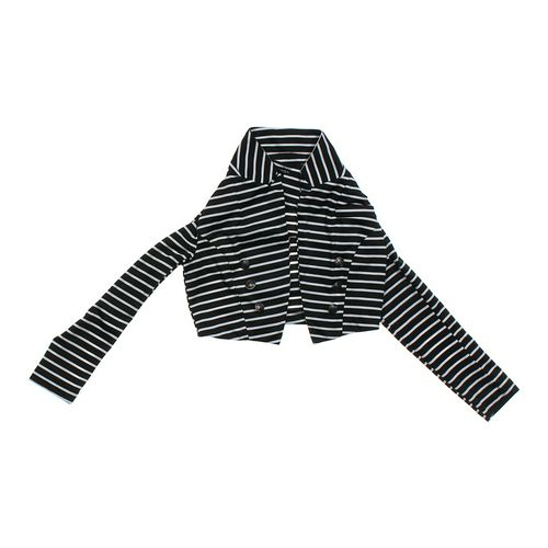 Zinga Embellished Striped Shrug in size JR 7 at up to 95% Off - Swap.com