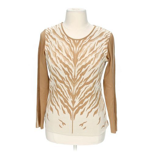 Cellini Embellished Sweater in size L at up to 95% Off - Swap.com