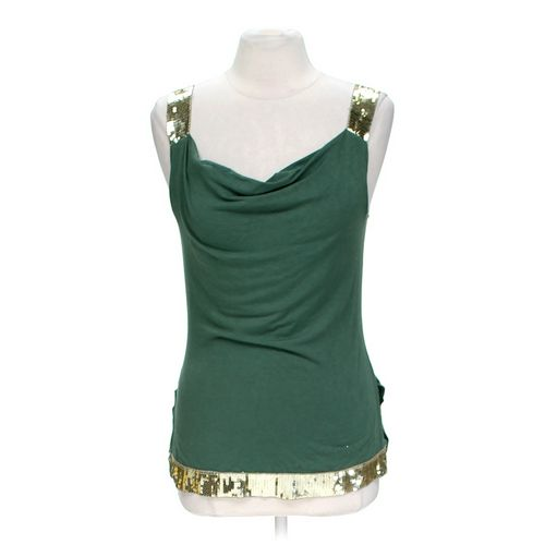A'GACI Embellished Tank Top in size L at up to 95% Off - Swap.com