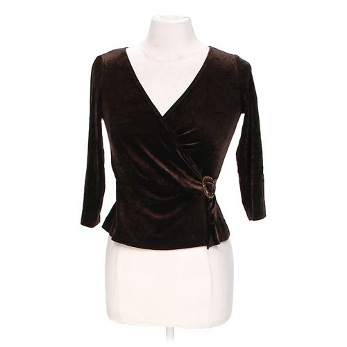 Embellished Velour Blouse in size S at up to 95% Off - Swap.com