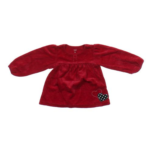 Carter's Embellished Velour Dress in size 3/3T at up to 95% Off - Swap.com