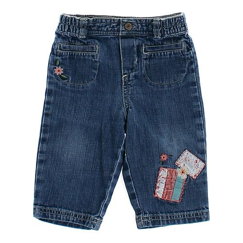 Genuine Kids from OshKosh Embroidered Accent Jeans in size 9 mo at up to 95% Off - Swap.com