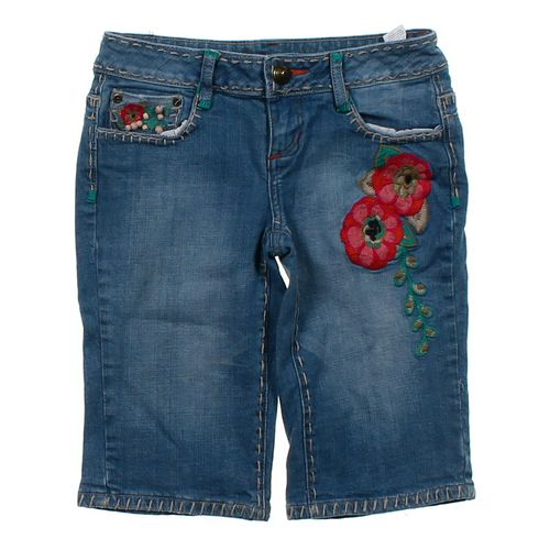 Soundgirl Embroidered Bermuda Shorts in size JR 5 at up to 95% Off - Swap.com