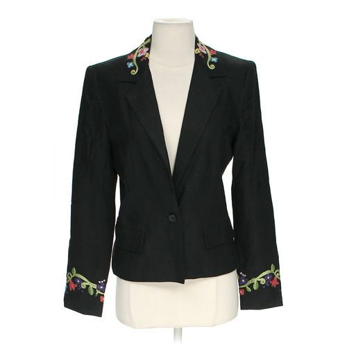 Mak Embroidered Blazer in size 6 at up to 95% Off - Swap.com