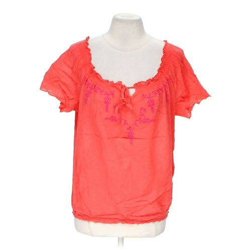 Faded Glory Embroidered Blouse in size M at up to 95% Off - Swap.com
