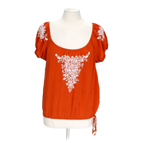 Karen Kane Embroidered Blouse in size L at up to 95% Off - Swap.com