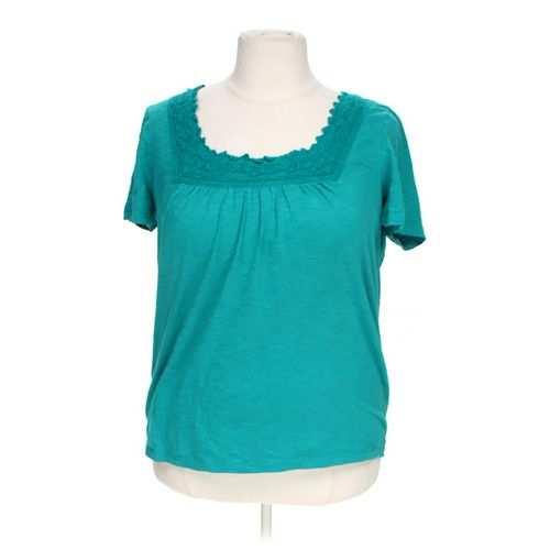 St. John's Bay Embroidered Blouse in size 1X at up to 95% Off - Swap.com