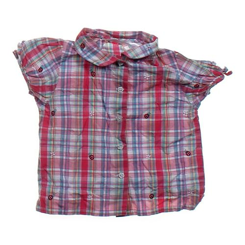 WonderKids Embroidered Button-up Shirt in size 3/3T at up to 95% Off - Swap.com