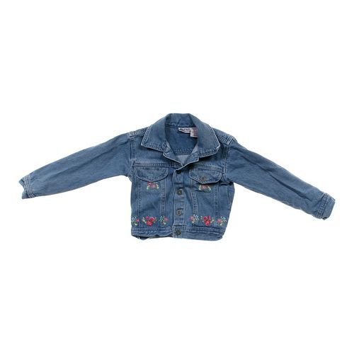 Blueberi Boulevard Embroidered Denim Jacket in size 4/4T at up to 95% Off - Swap.com