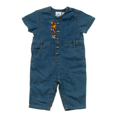 Disney Embroidered Denim Jumpsuit in size 6 mo at up to 95% Off - Swap.com