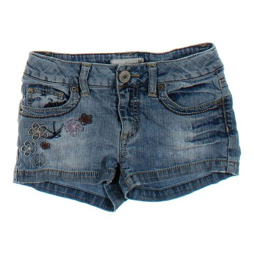 Route 66 Embroidered Denim Shorts in size 8 at up to 95% Off - Swap.com