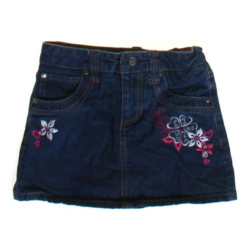 Circo Embroidered Denim Skirt in size 8 at up to 95% Off - Swap.com