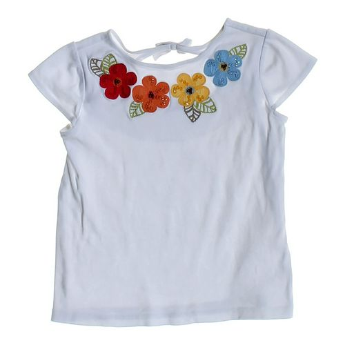Gymboree Embroidered Flower Shirt in size 6 at up to 95% Off - Swap.com