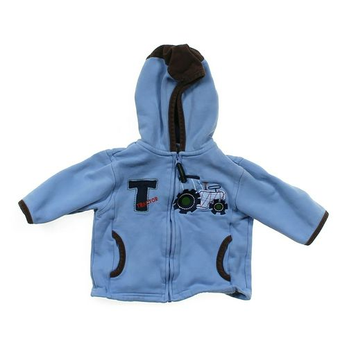 Carter's Embroidered Hooded Jacket in size 12 mo at up to 95% Off - Swap.com