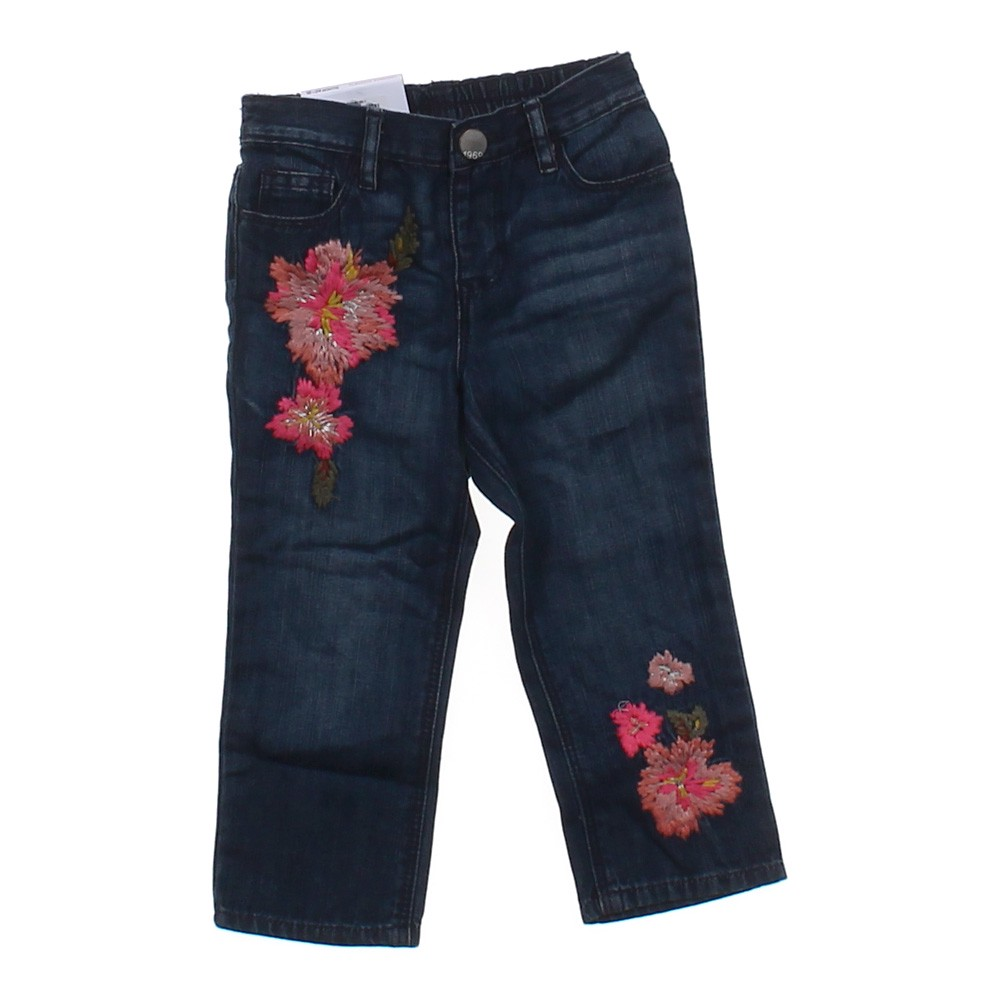 Baby gap embroidered jeans in size mo at up to off