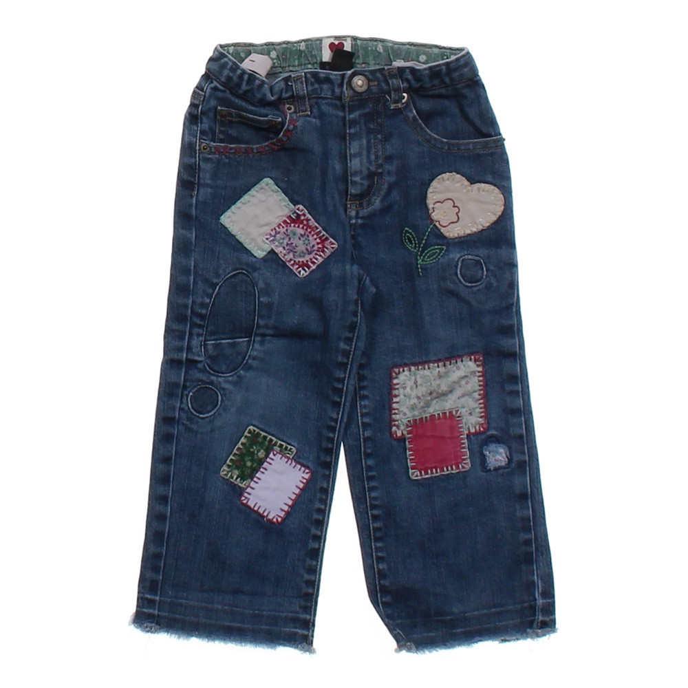 Baby gap embroidered jeans online consignment