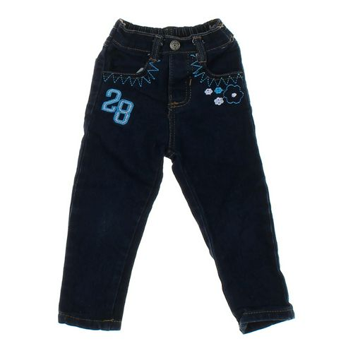 Coney island Girls Embroidered Jeans in size 18 mo at up to 95% Off - Swap.com