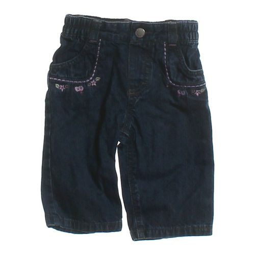 Genuine Kids from OshKosh Embroidered Jeans in size 6 mo at up to 95% Off - Swap.com