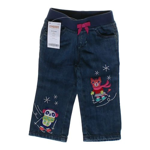 Gymboree Embroidered Jeans in size 6 mo at up to 95% Off - Swap.com