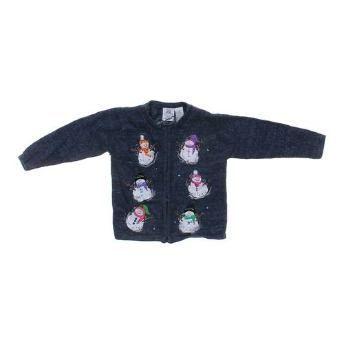 Tiara Girls Embroidered Knit Jacket in size 6 at up to 95% Off - Swap.com