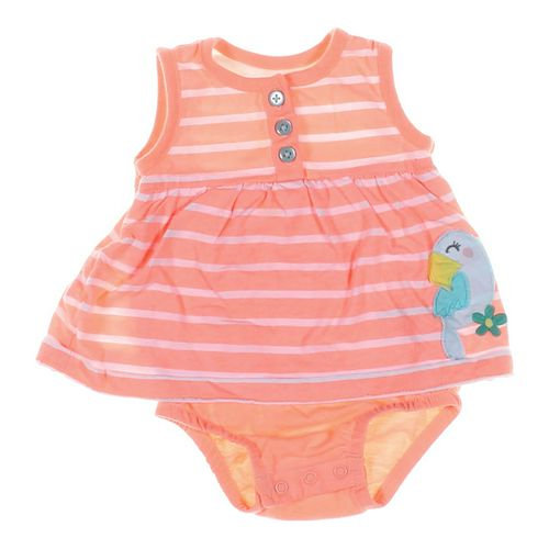 Carter's Embroidered Parrot Bodysuit in size 3 mo at up to 95% Off - Swap.com