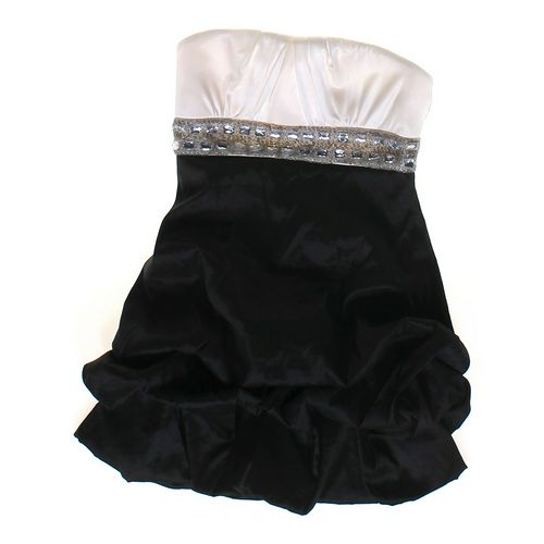 My Michelle Embroidered Party Dress in size JR 7 at up to 95% Off - Swap.com