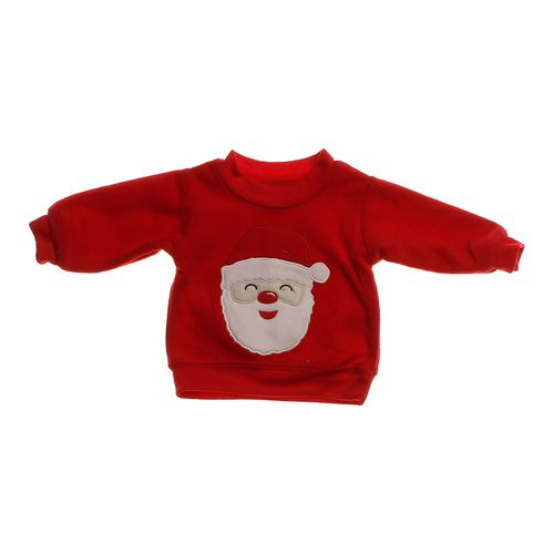 Carter's Embroidered Santa Sweatshirt in size NB at up to 95% Off - Swap.com