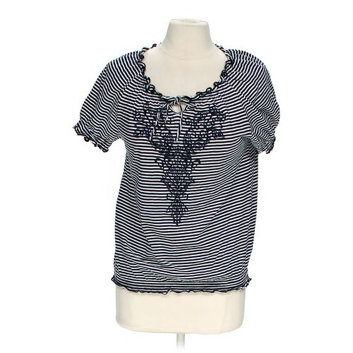 Croft & Barrow Embroidered Shirt in size M at up to 95% Off - Swap.com