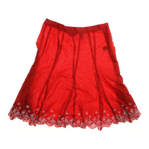Copper Key Embroidered Skirt in size JR 3 at up to 95% Off - Swap.com
