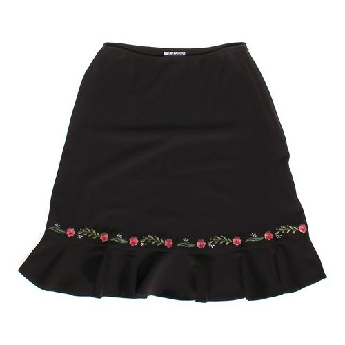 J Marco Embroidered Skirt in size 8 at up to 95% Off - Swap.com
