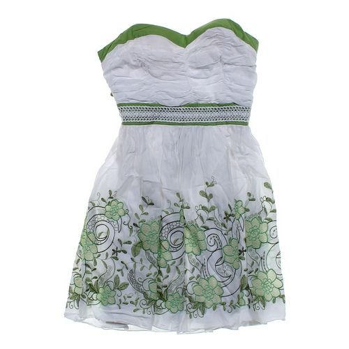 Sequin Hearts Embroidered Sun Dress in size JR 9 at up to 95% Off - Swap.com