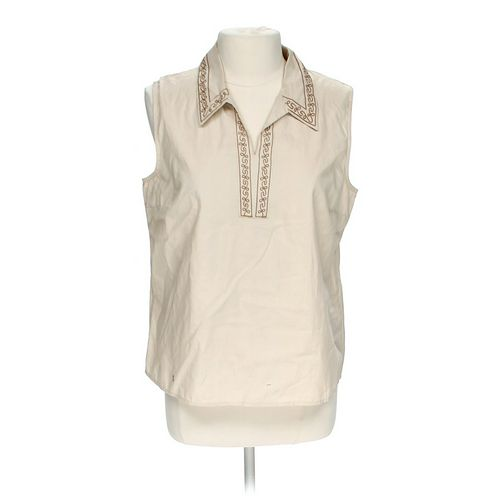 Sonoma Embroidered Tank in size L at up to 95% Off - Swap.com