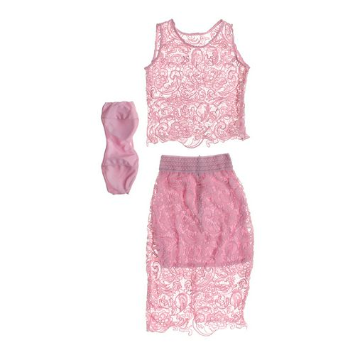 Embroidered Tank Top & Skirt Set in size JR 13 at up to 95% Off - Swap.com