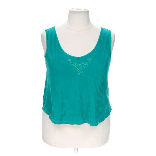Victoria's Secret Embroidered Tank Top in size 1X at up to 95% Off - Swap.com