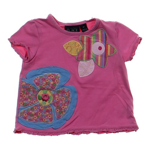 The Children's Place Embroidered Tee in size 4/4T at up to 95% Off - Swap.com