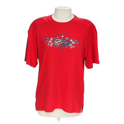 Jaclyn Smith Embroidered Tee in size XL at up to 95% Off - Swap.com