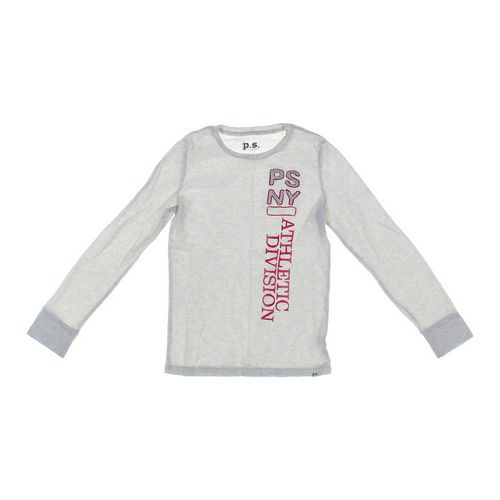 P.S. from Aéropostale Embroidered Thermal Shirt in size 14 at up to 95% Off - Swap.com