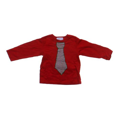 Embellish Kids Embroidered Tie Shirt in size 24 mo at up to 95% Off - Swap.com
