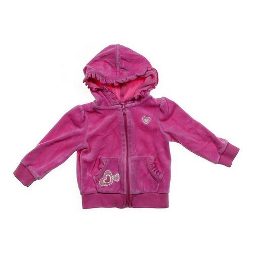 The Children's Place Embroidered Velour Jacket in size 18 mo at up to 95% Off - Swap.com