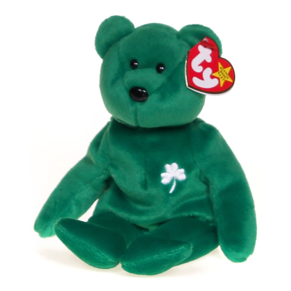 e822848c68c Ty Erin the Irish St Patrick s Day Teddy Bear Beanie Baby at up to 95%