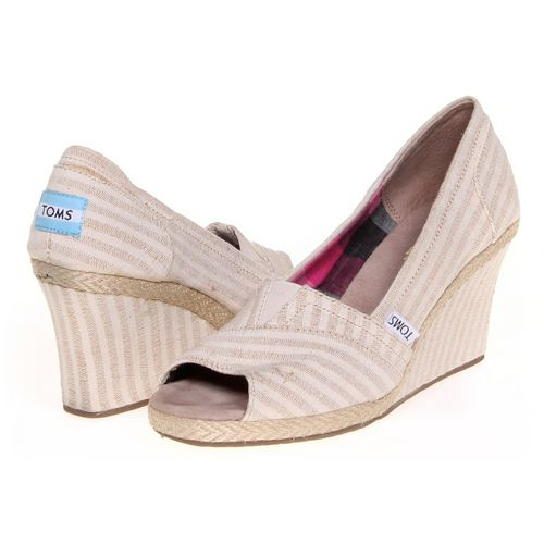 Toms Espadrilles in size 8 Women's at up to 95% Off - Swap.com