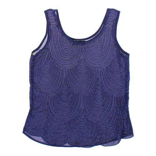 Blue Rain Exquisite Beaded Tank Top in size M at up to 95% Off - Swap.com