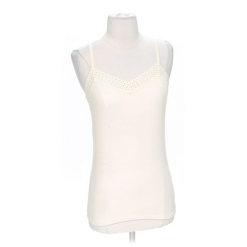 American Eagle Outfitters Eyelet Embroidered Cami in size M at up to 95% Off - Swap.com