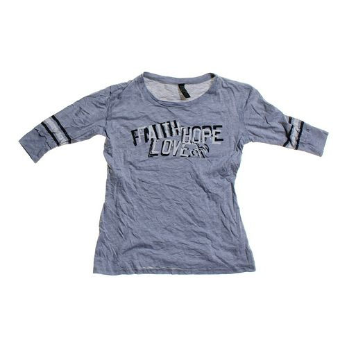 "NOT OF THIS WORLD ""Faith Hope Love"" Shirt in size JR 7 at up to 95% Off - Swap.com"