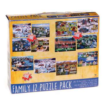Family 12 Puzzle Pack Puzzle for Sale on Swap.com