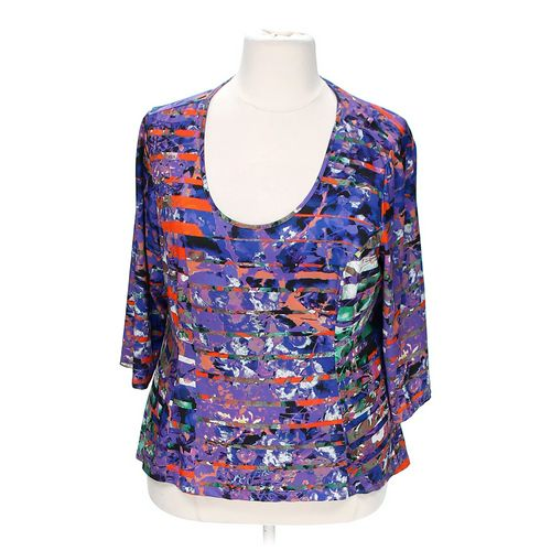 Jete Fashionable Blouse in size 2X at up to 95% Off - Swap.com