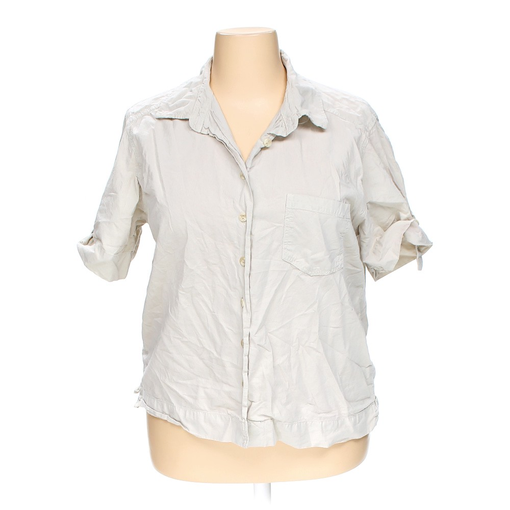 77f8a45df7654 C.S.T. SPORT Fashionable Button-up Shirt in size 1X at up to 95% Off
