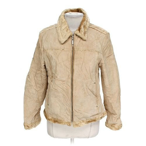 Maurices Fashionable Leather Jacket in size JR 9 at up to 95% Off - Swap.com