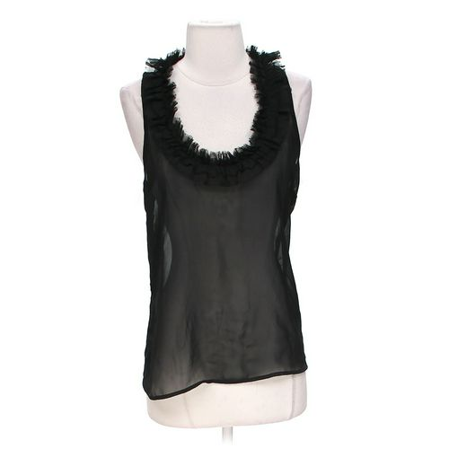 Charlotte Russe Fashionable Sheer Tank Top in size M at up to 95% Off - Swap.com