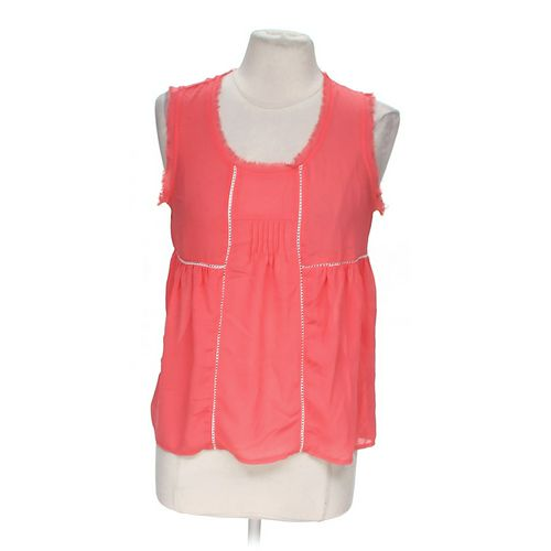 Cozy Casual Fashionable Sheer Tank Top in size M at up to 95% Off - Swap.com